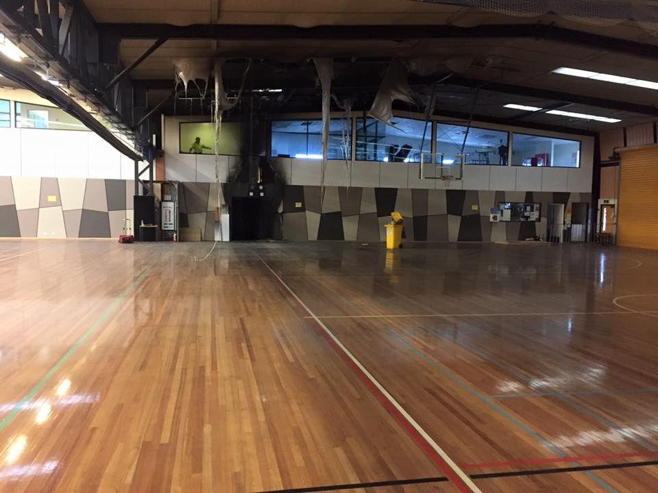 sports flooring maintenance